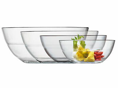 Duralex Bowls Glass Mixing Dish Ovenware Microwave Oven safe - Various Sizes