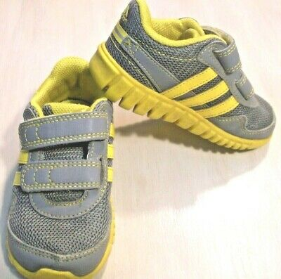 ADIDAS boys/girls toddler baby shoes hook and loop fastening athletic SIZE 6