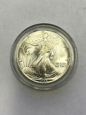 1986 American Silver Eagle.! 1Oz. ! Uncertified.! NR.!!