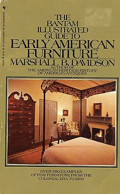 Early American Furniture Types Periods - Chairs Chests Desks Etc. / Scarce Book
