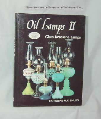 Excellent Oil Lamps 2 Glass Kerosene Lamps Research Book ** FREE SHIPPING **