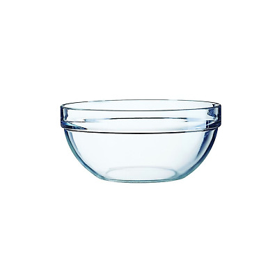 Arcoroc Bowls Glass Mixing Dish Ovenware Microwave Oven safe - Various Sizes