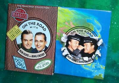 Franchise Collection On The Road With Bob Hope And Bing Crosby 4 Movie Dvd Set