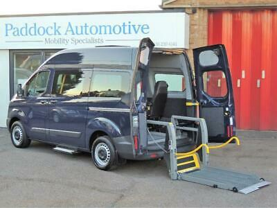 Ford Transit 2.2 Custom High Roof Disabled Wheelchair Adapted Vehicle WAV