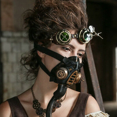 Steam Punk Halloween Mask Steampunk Gas Mask Cosplay Stage Performance Mask