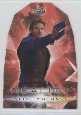 2018 UD Marvel Avengers Infinity War Reality Stone card #6 STAR-LORD