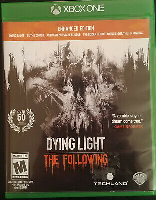 DYING LIGHT: THE Following - Enhanced Edition - Xbox One - Excellent  Condition