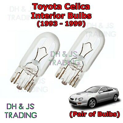 Toyota Celica T20 Green LED /'Trade/' Wide Angle Side Light Beam Bulbs Pair