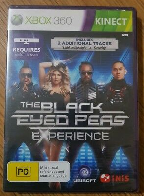 Xbox 360, The Black Eyed Peas Experience, Kinect, Sealed!