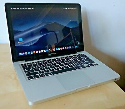 "Apple Macbook Pro 9,2 refurbished i5 120GB SDD 8GB RAM Mojave Office 13"" laptop"
