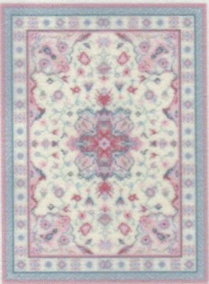 """1:48 Scale Dollhouse Area Rug 0001962 - approximately 1-7/8"""" x 2-3/4"""""""
