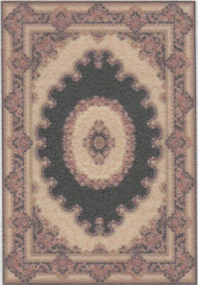 """1:48 Scale Dollhouse Area Rug 0001959 - approximately 1-7/8"""" x 2-3/4"""""""