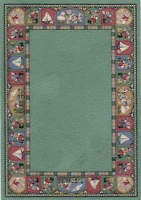 """1:24 Scale Dollhouse Area Rug approximately 3-5/8"""" x 5-1/8"""" - 0001898"""