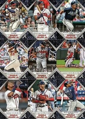 RONALD ACUNA JR. HIGHLIGHTS  2019 Topps Series 1 - YOU PICK - COMPLETE YOUR SET