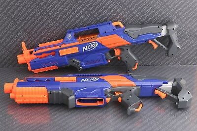 Lot of 2 - Nerf N-Strike Elite Rapidstrike CS-18 Blaster Dart Gun