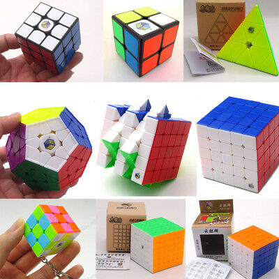 Yuxin Smoothly Professional Speed Magic Cube Puzzle Twist Classic Brain Game Toy
