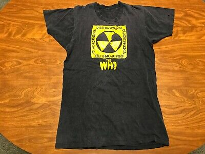 Vtg Original 70's 1973 The Who Quadrophenia Hegewisch Records Tour Shirt Small