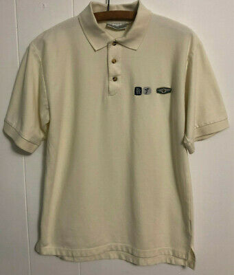 """Rolls-Royce & Bentley Motor Cars Short Sleeve Embroidered Polo Shirt Mens S 38"""""""