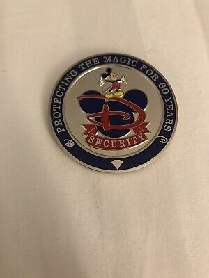 Disney Disneyland Security Challenge Coin Coins