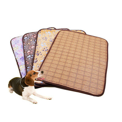 Pet Cooling Mat Dog Cat Spring Summer Double-sided Bed Teddy Blanket Cushion Pad