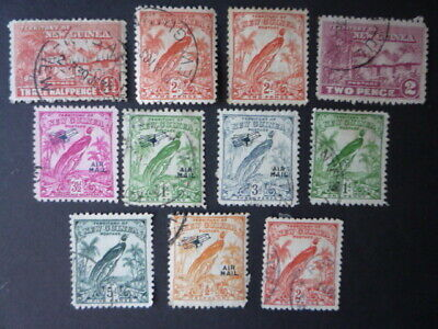 ***NEW GUINEA***BIRD`s VARIOUS***GOOD- FINE USED**AS PICTURED***