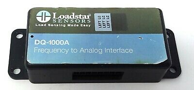 Loadstar Sensors Dq-1000A Frequency To Analog Interface (Used)