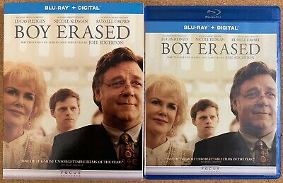 Boy Erased Blu Ray + Slipcover Sleeve Free World Wide Shipping Buy It Now Crowe