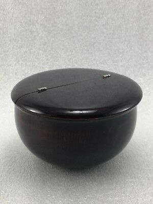 Japanese Wooden Lacquer Tea  CADDY Container Tea Ceremony Nutsume Chaire Z16