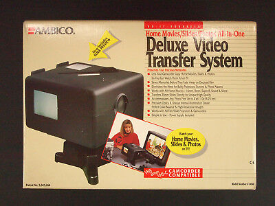 AMBICO Deluxe Video Transfer System - V-0650 - DIY Slides/Photos/Home Movies