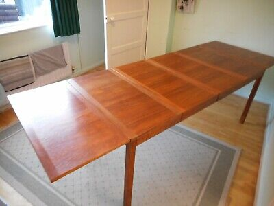 Vintage extending dining table -  DANISH VEJLE STOLE  - nearly 9ft long!