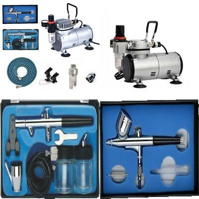 ABEST Airbrush Compressor kit Plus Airbrushing Accessories – air hose, tool-2