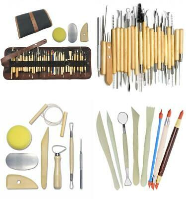 Wartoon 38Pack Sculpting Tools with Reusable Pouch for Polymer Clay Pottery...