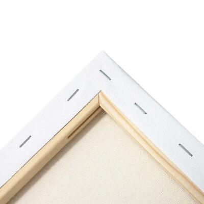 "ARTEZA 9x12"" White Blank Canvas Panel Boards, Bulk Pack of 14, Primed, 100%..."