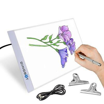 Dingbot Led Light Box Drawing Board for A4 Tracing Paper | Up Pad Artists...