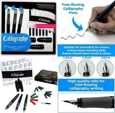 Calligraphy Pen Set - Complete 3 17-piece Writing set by...