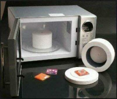 Professional Microwave Kiln Kit Set - for DIY Jewelry Glass Fusing Tools