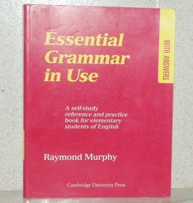 Essential Grammar In Use ~ With Answers ~ Raymond Murphy ~ Elementary English