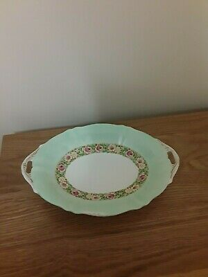 Rare Paragon Bowl/Dish China Queen & Queen Mary 'BROCADE'  Floral Cabbage Rose !
