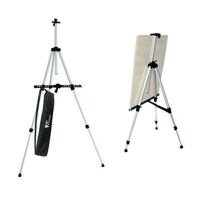 Amzdeal Easel 60cm-162cm Art Canvas Stand, Indoor/Outdoor Painting,...