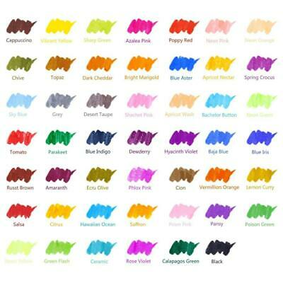 Watercolour Brush Markers Pen, Ohuhu 48 Colours Water Based Drawing Marker...