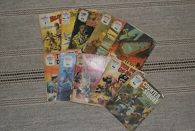 Battle Picture Stories Comic Book Job /lot