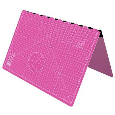 ANSIO A1 Self Healing Foldable Cutting Mat with Imperial 34 Inch x 22.5 - Pink