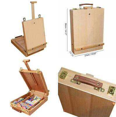 Kurtzy Easel - 36cm (14.17 inch) Box - Table for All Media Artist, Wooden...
