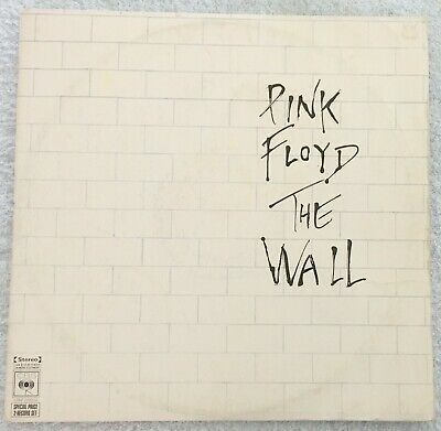 PINK FLOYD - THE WALL, Double Vinyl LP RECORD, Gatefold, Inserts