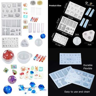 Jatidne Silicone Resin Moulds For Jewellery Making Epoxy Casting Kit DIY