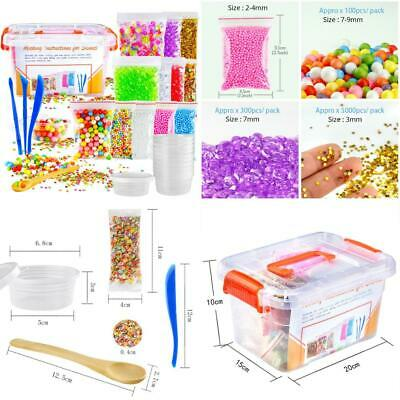 Pllieay 29 Pack Kit fit Slime Making Including Fishbowl Beads, Foam Balls,...