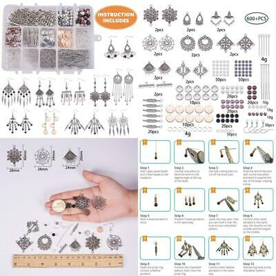 SUNNYCLUE 1 Box DIY 10 Pairs Chandelier Bohemian Earring Making Starter...