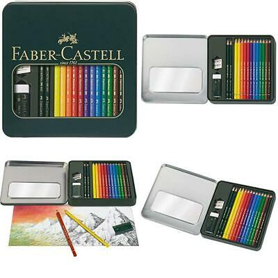 Faber-Castell Mixed Media Pencil Set includes Polychromos Pencils/Castell...