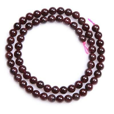 SHGbeads Red Garnet Gemstone Loose Beads Natural Crystal Energy Healing...