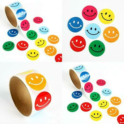 Lezed Emoji Smiley Sticker Yellow Smile Face Happy Stickers Circular...